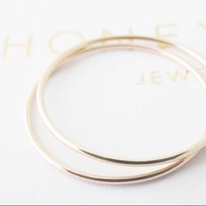 Jewelry - Gold Midi Ring | 14K Gold Band